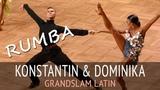 Konstantin Gorodilov &amp Dominika Bergmannova Румба GOC2018 GrandSlam LATIN - 5тур