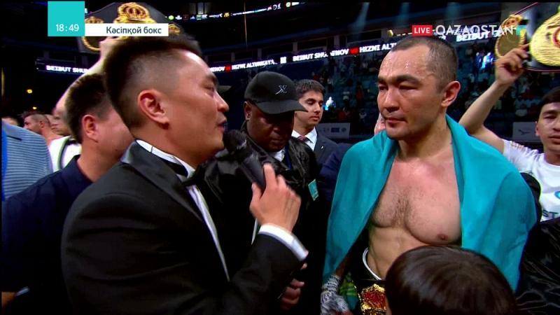 Бейбіт Шуменов WBA (Regular) тұжырымдамасы бойынша Әлем чемпионы атанды