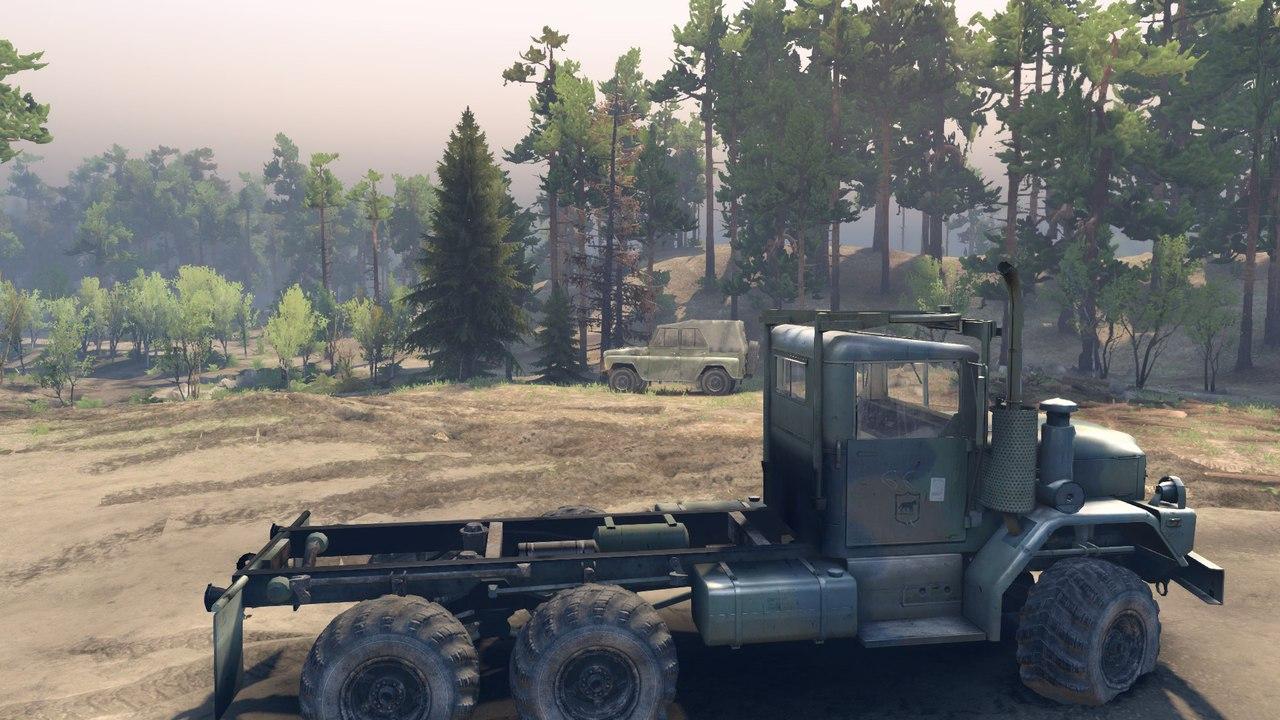 Армейский грузовик M35A2 для Spintires - Скриншот 2