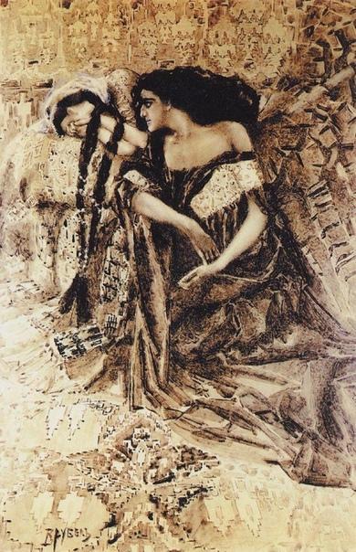 « одного шедевра».«Тамара и Демон», Михаил Врубель
