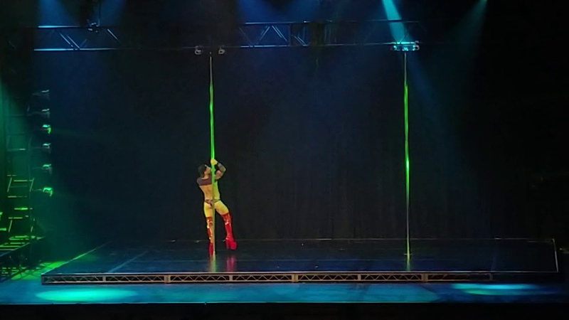 Chris Talbot - Guest performer pole classic
