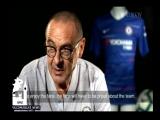 Первое интервью Маурицио Сарри в качестве тренера