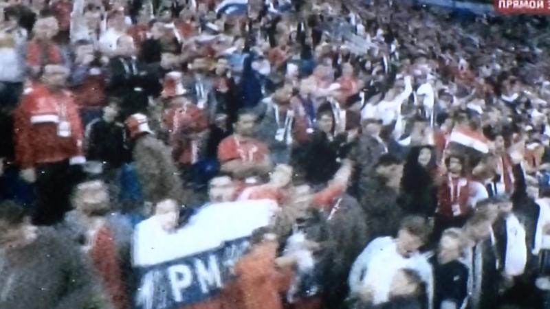 Со счётом 3-1 Россия выиграла Египтян на чемпионате мира по футболу в Петербурге