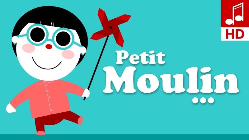 TOURNE TOURNE PETIT MOULIN comptine bébé comptine pour maternelle