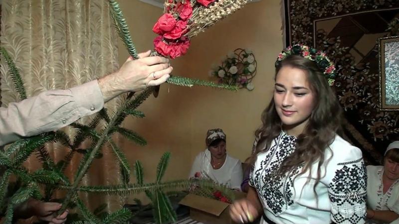 5. Гарний звичай - Вбирання весільного деревця - Іванівці.- Bridal Wedding Tree