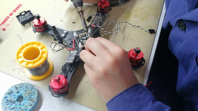 Как мы рои дронов запускали