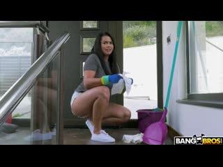 Chloe lamour - busty maid gets anal fuck [anal, amateur, big tits, busty, cowgirl,cumshot, doggystyle, hardcore, latina]