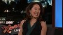 Sandra Oh on Shooting Killing Eve