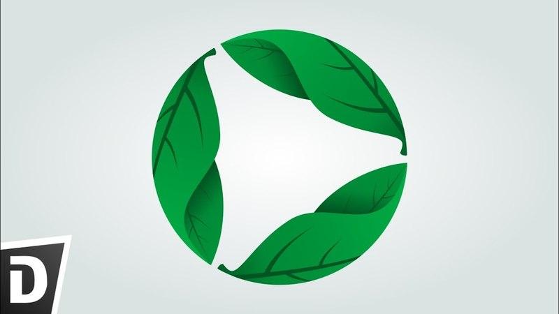 Environment Logo - Inkscape Tutorial