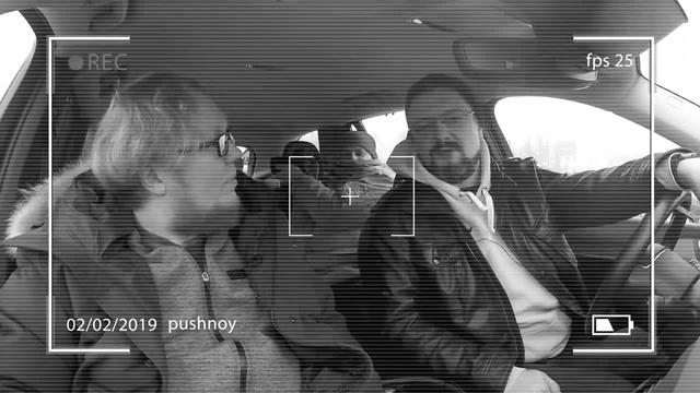 Александр Пушной и его Volvo XC90 Стилавин и Вахидов Мат