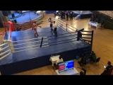 Новрузов Самир-Анохин Данил полуфинал Чемпионата России по кикбоксингу К-1 Крым Ялта 2018