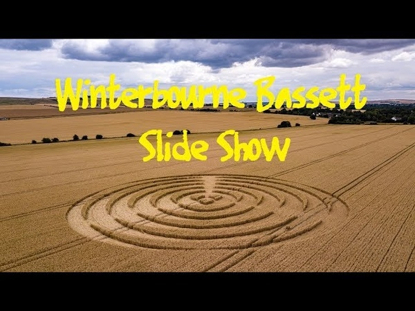 Crop Circle Winterbourne Bassett Slide Show 14/7/2018