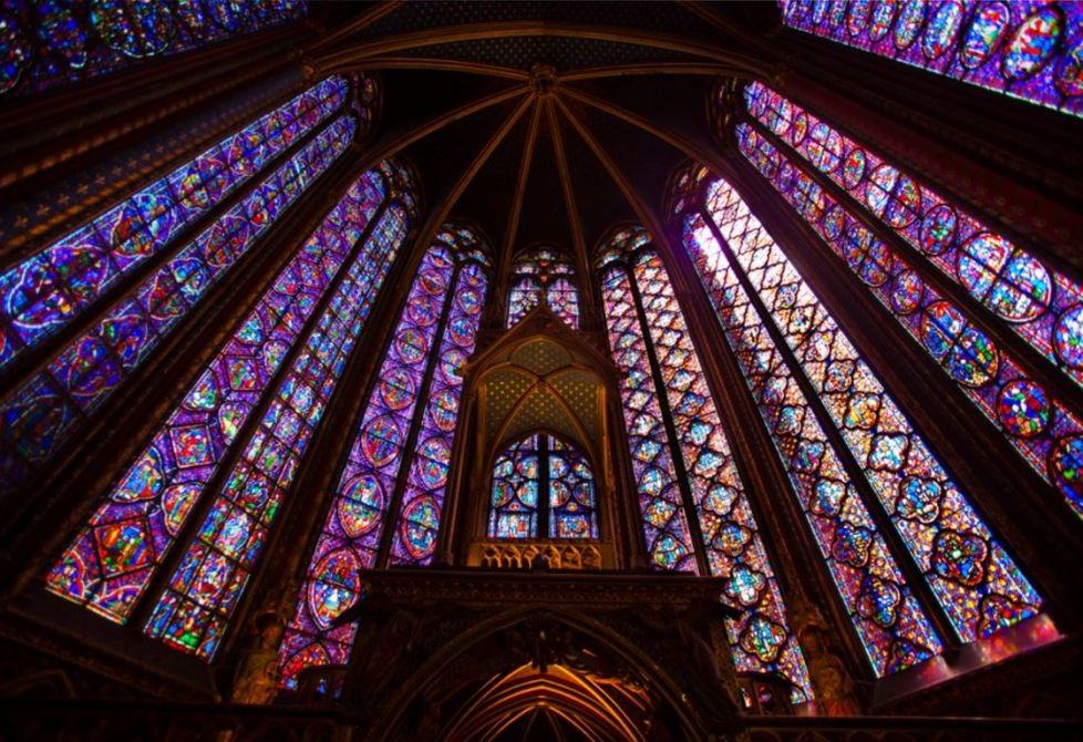 Сент-Шапель, Париж, Франция