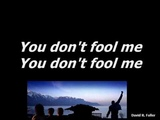 Queen - You Don't Fool Me Karaoke (Real Queen Music)