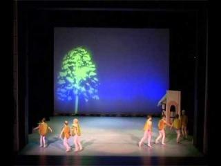 Балет.Госпожа Метелица.Яблоня.Танец яблочек.Николь.2012.Ballett.
