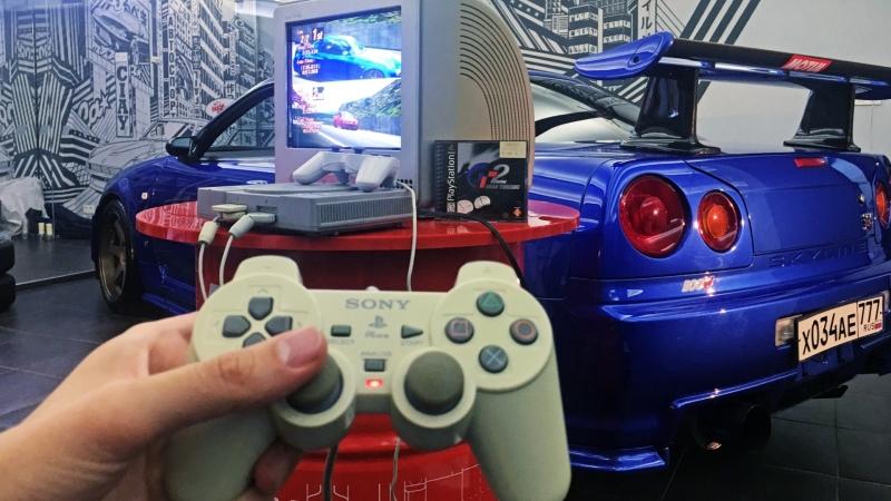 Как выглядел киберспорт 90-х Nissan GT-R R34, PlayStation и Gran Turismo 2