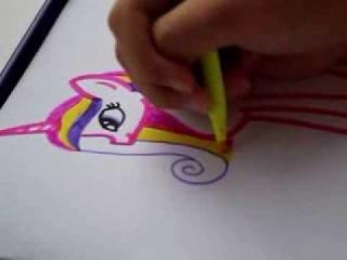 Как Нарисовать Пони Принцесса Каденс Аликорн ♥