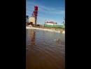 Сынуля на самом соленом озере в Соль Илецке