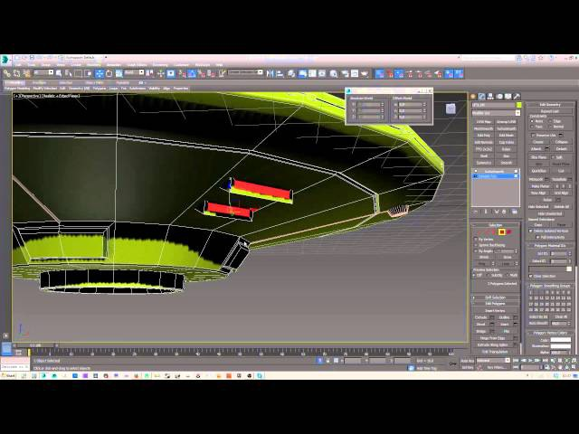 Modelling a simple UFO in 3dsMax
