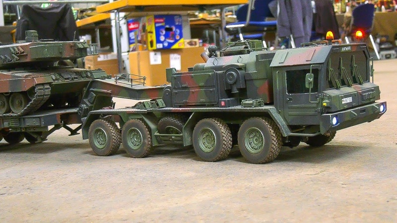 RC SCALE MODEL TANKS|RC MILITARY VEHICLES|RC ARMY TRUCKS|RC FAUN MAN TRUCK!!