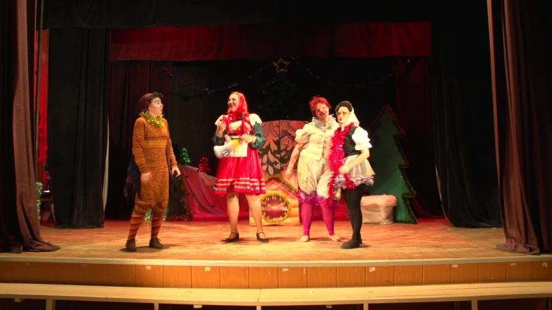 Сон в новогоднюю ночь или пробуждение Деда Мороза