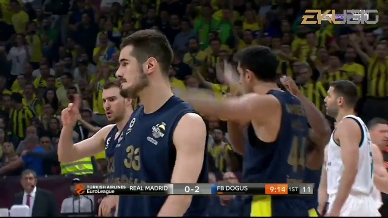 FENERBAHÇE DOĞUŞ 80- 85 REAL MADRİD EUROLEAGUE FİNAL MAÇI FULL