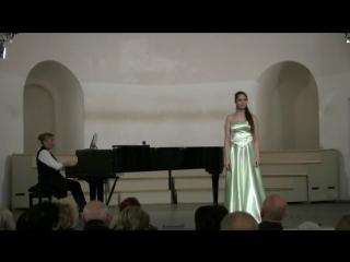 Софья Шех А. Даргомыжский Песня Ольги из оперы