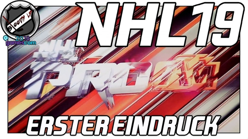 NHL 19 - Erster Eindruck, Spielmodi, NHL ProAM ★ Gamescom2018