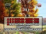 ОЙ НА ГОРІ ДВА ДУБКИ — караоке Українська народна пісня Ukrainian folk song karaoke