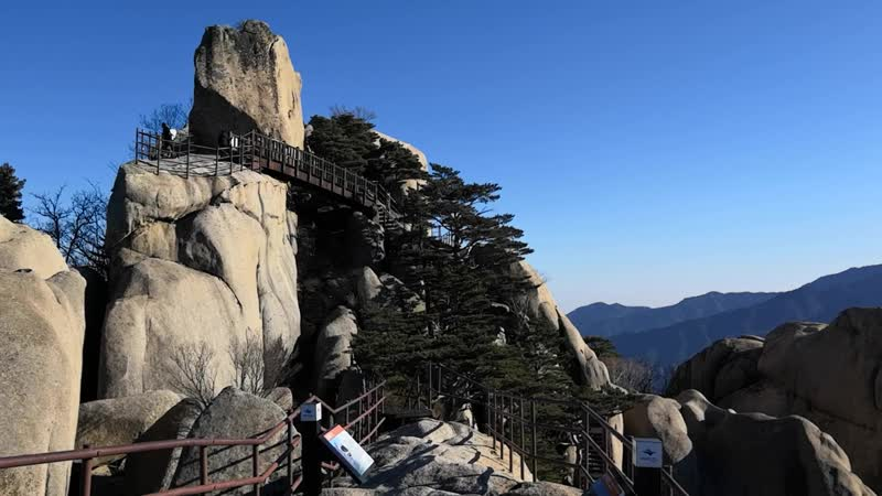 2019_01_03 Корея, природный парк Сораксан, гора Ульсанбави