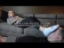 Avery's Sweaty Feet Session Dreamgirls in Socks