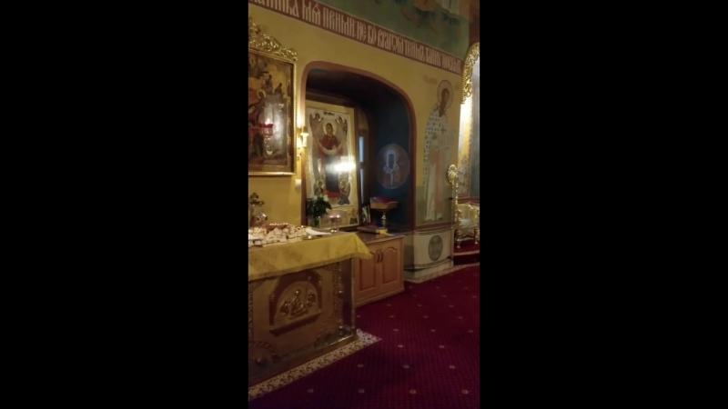 Кирие элеисон. Покровский академический храм 08.10.18