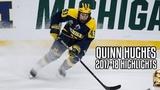 Quinn Hughes 2017-18 Highlights
