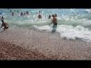Гурзуфский пляж 2018