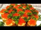 Рыбные Блины с Красной Икрой. ПЕРВЫМИ СМЕТАЮТСЯ СО СТОЛА. Fish Pancakes with Red Caviar