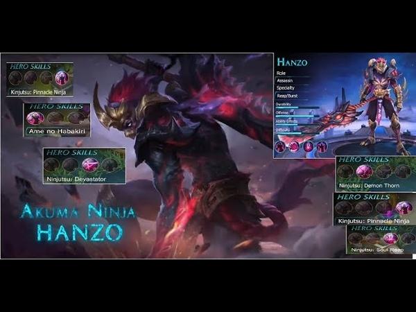 New Hero Akuma Ninja hanzo