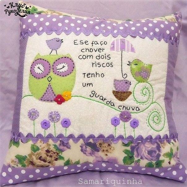 Красивые подушки для декора (8 фото) - картинка