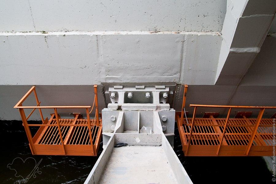 дамба фотографии кронштадт репортаж механизм залив вода запирание наводнение