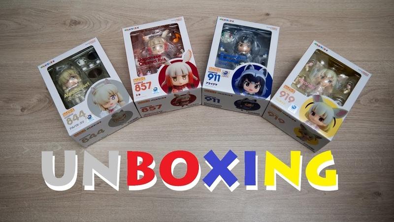 Unboxing parcel AmiAmi 41 (Nendoroids)