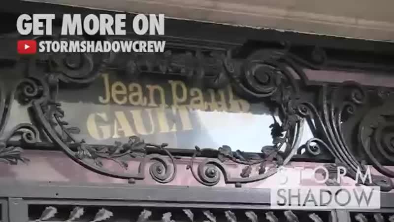 Conchita Wurst at Jean paul Gaultier Fashion Show in Paris
