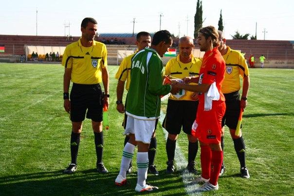 Матч VIVA World Cup 2012 против Курдистана
