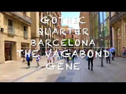 Barcelona Gothic Quarter Walking Tour 2018 HD