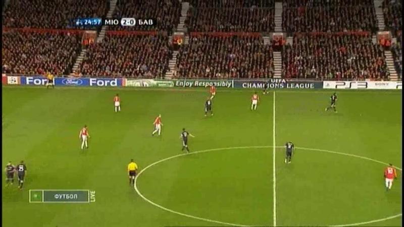 Лига Чемпионов 2009/2010. 1/4 финала. Ответный матч. Манчестер Юнайтед - Бавария