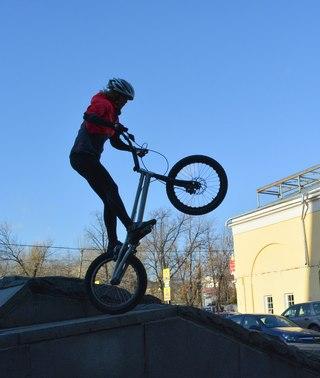 Основные приемы велотриала