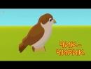 Как говорят животные. Развивающий мультфильм для детей. Учим голоса и звуки живо