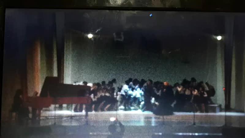 Е. Алтунина Плач матери  исп. Старший хор ДМШ 3 г.Волжского, солистка - Ирина Тисленко. 25 апреля 2018 г.