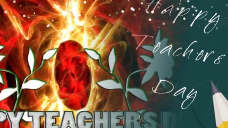 In Your Hands - Happy Teacher's Day Song