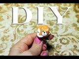 Лепим лисёнка / Полимерная глина Fimo
