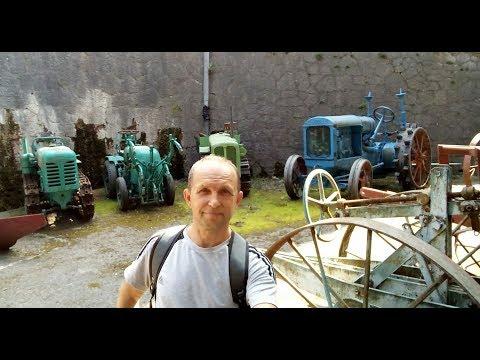 Ялта. Музей сельхозтехники в институте Магарач