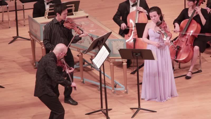 G. P. Telemann Concerto for 3 violins F major TWV 53:F1 Hal Grossman Gregory Lee Daniela Láncara Accademia Filarmonica